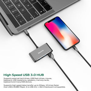 iMXPW DURANTO USB 3.1 Type-C to USB HUB Adapter