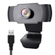 1080P Webcam with Microphone, iMXPW USB 2.0 Desktop Laptop Computer Web Camera with Auto Light Correction, Plug and Play, for Windows Mac OS