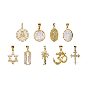 ARMURE CHARM SERIES - LETTER CHARM NECKLACE