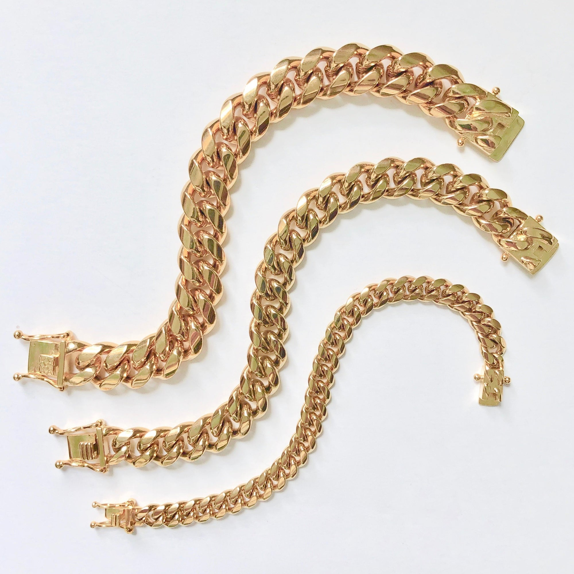 RUTH CURB CHAIN BRACELETS