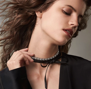 Shop the FALLON Monarch Variant Baguette Choker.
