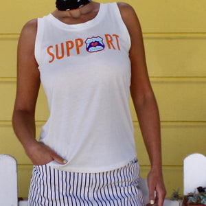 SUPPORT Logo Muscle Tank