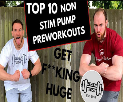 Sicario Makes Review Bros Top 2020 Pump Preworkout List!