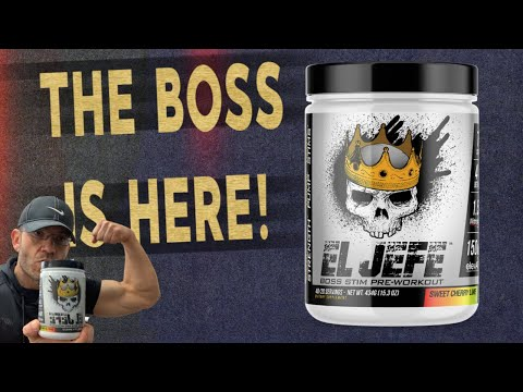 FDN Labels El Jefe amongst his top preworkout list 2020
