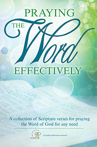 Praying the Word Effectively