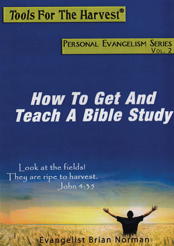 How to Get and Teach A Bible Study Audio (MP3)