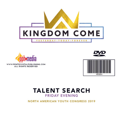 2019 NAYC Talent Search Friday DVD