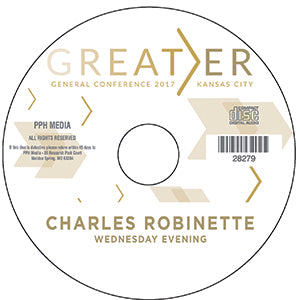 2017 GC - Charles Robinette - GM SVS - Wed Eve  MP3