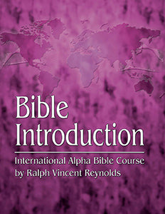 Bible Introduction - Alpha Bible Course