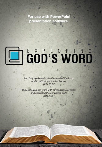 Exploring God's Word Power Point Revised -  (PDF)