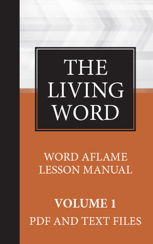 The Living Word Series Adult Hardbound Drop Card - Volume 1 (2018-2019)