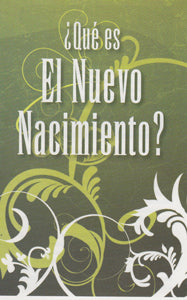 Tract - The New Birth (Spanish) (Package of 100)