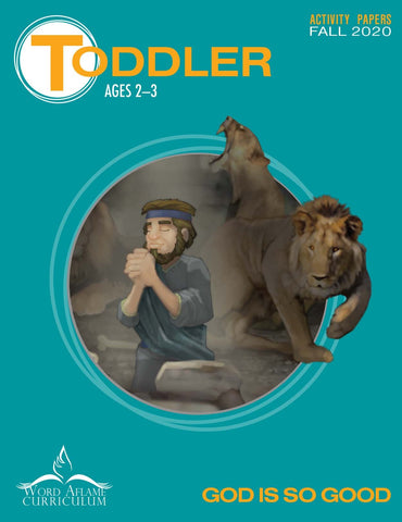 Toddler Digital Student Activity Paper Fall 2020