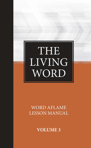 The Living Word Series Adult Hardbound Vol 3 Sept 2020- Aug 2021