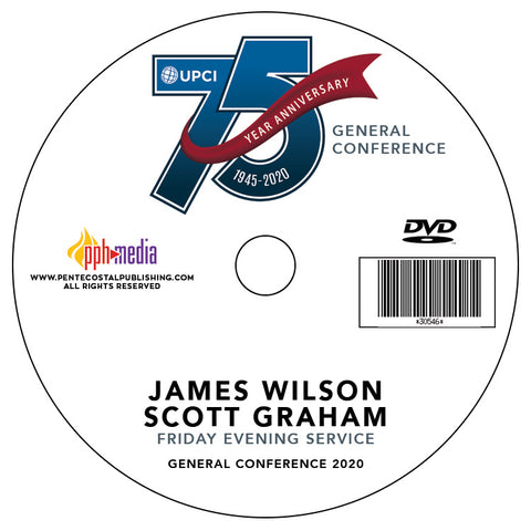 GC 2020 James Wilson and Scott Graham - Friday Evening DVD