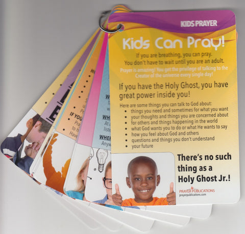 Kids Can Pray Key Cards