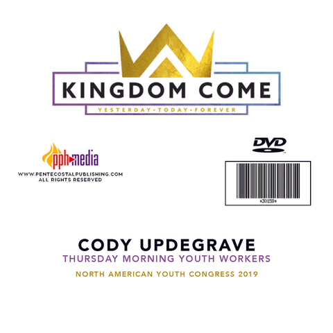 2019 NAYC Cody Updegrave Youth Workers Thursday DVD