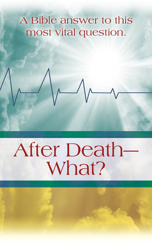 Tract - After Death, What? (Package of 100)