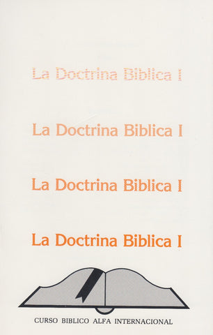 International Alpha Bible Course - Doctrine of the Bible I - (Spanish)