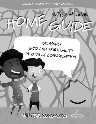 Word Aflame Home Guide Winter 2021 (PDF) - Individual