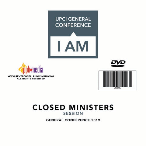 GC 2019 Closed Minister's Session DVD