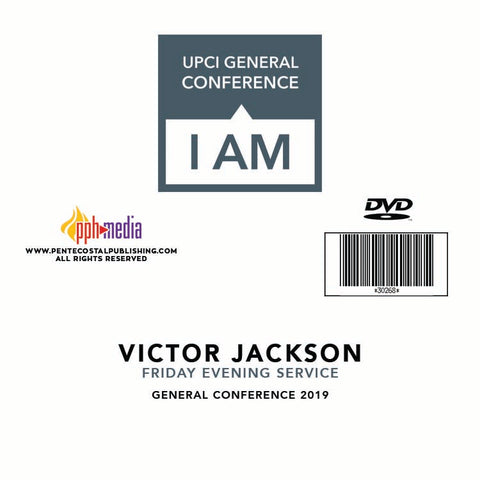 GC 2019  - Victor Jackson - Friday Evening DVD