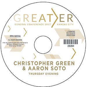 2017 GC - Christopher Green & Aaron Soto - GC Svs  CD