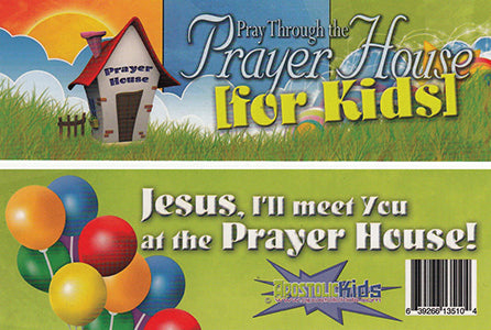 Pray Through the Prayer House for Kids - Bookmark