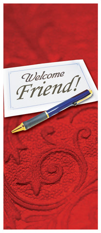 Tract - Welcome Friend (Package of 100)