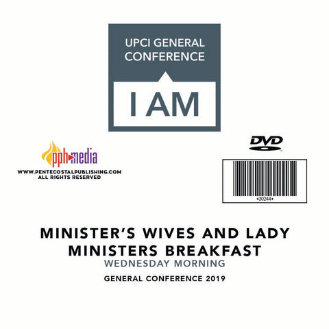 GC 2019  Ministers' Wives and Lady Ministers breakfast - Wednesday Morning DVD