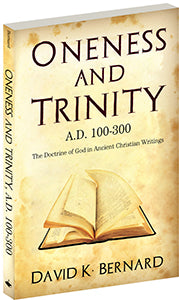 Oneness and Trinity A.D. 100-300 Braille (eBook)