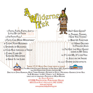 Wilderness Trek - CD - KPH