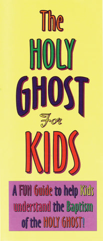 Tract - The Holy Ghost for Kids (Package of 100)
