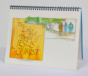 Life and Times of Jesus Christ Small Chart