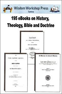 195 eBooks on History, Theology, Bible and Doctrine - PDF on DVD