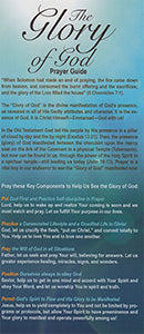 Prayer Guide The Glory of God