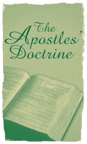 Tract - The Apostles' Doctrine (Package of 50)
