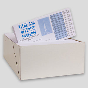 Tithe and Offering Envelope Bill Size #3 (Box of 500)