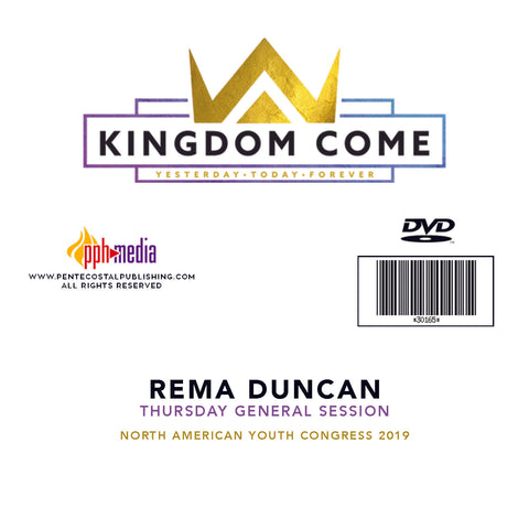 2019 NAYC Rema Duncan General Session Thursday DVD