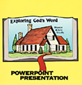 Exploring God's Word - Powerpoint Chart - CD