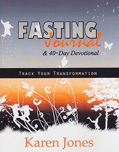 Fasting Journal and 40 Day Devotional Track Your Transformation
