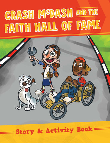 Crash McDash and the Faith Hall of Fame Story Activity Book