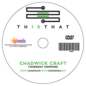 2017 NAYC - Chadwick Craft - Youth Workers - Thursday  - DVD