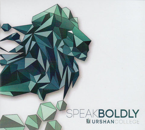 Speak Boldly - CD (2017)