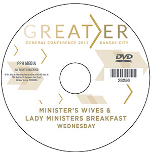 2017 GC - Minister's Wife/Lady Ministers Breakfast - Wed  MP4