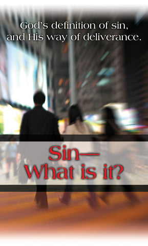 Tract - Sin: What is it? (Package of 100)