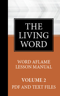 The Living Word Adult Drop Card Volume 2 Sept 2019 - Aug 2020