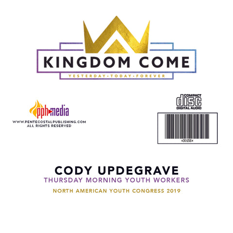 2019 NAYC Cody Updegrave Youth Workers Thursday CD