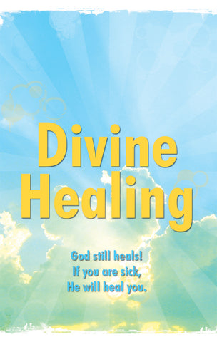 Tract - Divine Healing (Package of 100)