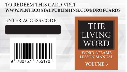 The Living Word Series Drop Card - Volume 3 Sept 2020-Aug 2021